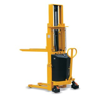 Semi Electric Hydraulic Forklift Stacker MS1016
