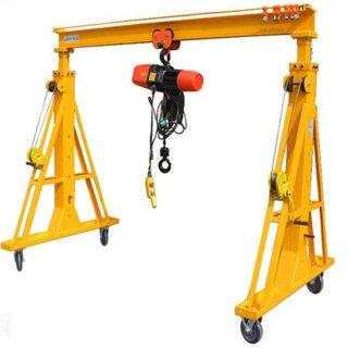 500kg Capacity Mobile Adjustable Gantry Crane