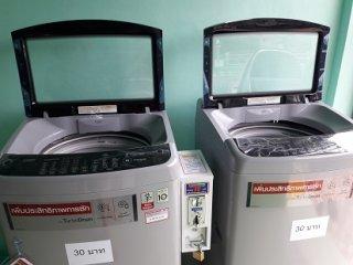 เครื่องซักผ้าหยอดเหรียญราคาถูก 10 kg จ นครปฐม