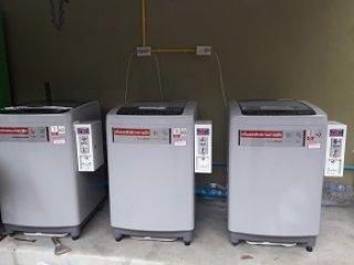 เครื่องซักผ้าหยอดเหรียญราคาถูก 9 kg จ หนองบัวลำภู