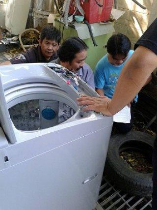 เครื่องซักผ้าหยอดเหรียญราคาถูก 9 kg จ น่าน