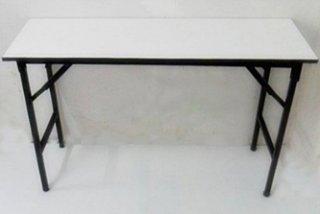 โต๊ะพับเมลามีนขาว หนา 19 มิล