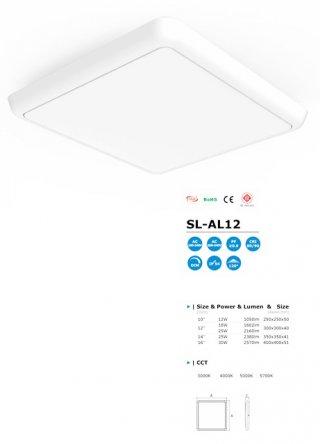โคมไฟ LED Ceiling Light รุ่น SL-AL12