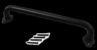 มือจับบานสไลด์เหล็กอบสีดำ รุ่น H-5-1