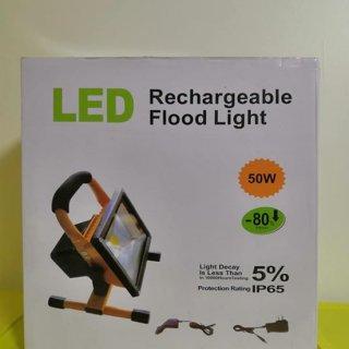 ชุดโคมไฟสปอร์ตไลท์ LED 50W