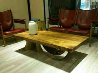 จำหน่ายชุดโต๊ะไม้แผ่นใหญ่