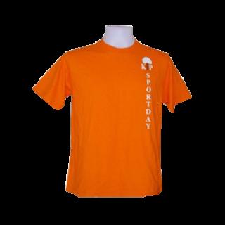 แบบเสื้อเชิ้ตส้มพร้อมสกรีน