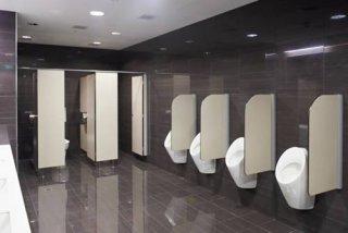 แผงกั้นห้องน้ำ