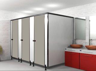 ผนังกั้นห้องน้ำ IVORY S002