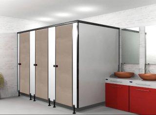 ผนังกั้นห้องน้ำ BEIGE S004