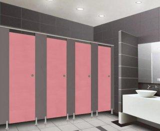ผนังกั้นห้องน้ำ PINK S008