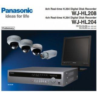 กล้องวงจรปิด Panasonic รุ่น WJ-HL2XX