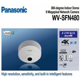 กล้องวงจรปิด Panasonic รุ่น WV-SFN480