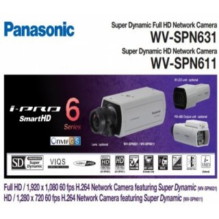 กล้องวงจรปิด Panasonic รุ่น WV-SPN631