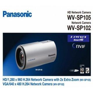 กล้องวงจรปิด Panasonic รุ่น WV-SP105