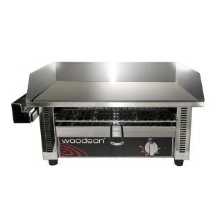 เตาแผ่นเหล็กไฟฟ้า WGDT65 Griddle Toaster