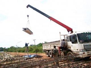 บริการรับเหมาก่อสร้าง ชลบุรี