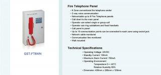 Fire Telephone Panel รุ่น GST-FT8WN