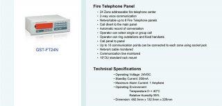 Fire Telephone Panel รุ่น GST-FT24N