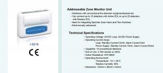 Addressable Zone Monitor Unit รุ่น I-9319