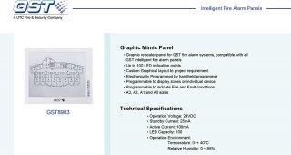 Graphic Mimic Panel รุ่น GST8903