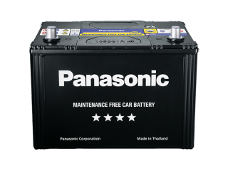 แบตรถยนต์ Panasonic รุ่น 75D26R