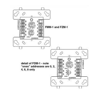 FZM-1CH Addressable, ไฟอราม