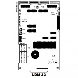 LDM-32 Lamp Driver Modules, ไฟอราม