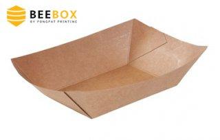 กล่องอาหารกระดาษคราฟท์ รหัส BST 04