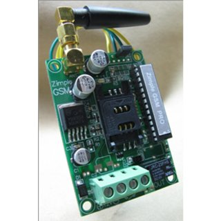 Zimple GSM ควบคุมประตูรีโมทด้วยโทรศัพท์