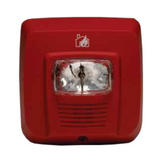 Horn-Strobe Light Red SYS-ST