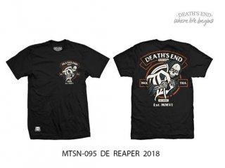 [S] เสื้อยืดสีดำ รหัส MTSN-095 DE REAPER 2018