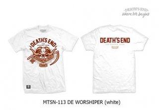 [S] เสื้อยืดสีขาว MTSN-113 DE WORSHIPER (White)