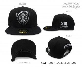 หมวกแก๊ป DEATH'S END รหัส CAP-007 REAPER NATION