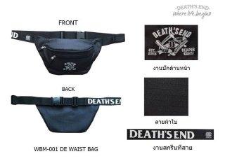 กระเป๋าคาดเอว รหัส WBM-001 DE WAIST BAG (Black)