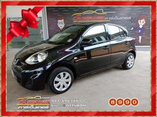 Nissan March 1.2 EL A/T สีดำ