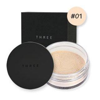 THREE Ultimate Diaphanous Loose Powder #Glow 01