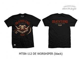 [M] เสื้อยืดสีดำ MTSN-112 DE WORSHIPER (Black)