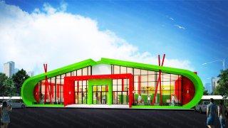 Minimart โครงการ PT Outlet Oil Station