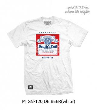 [S] เสื้อยืดสีขาว รหัส MTSN-120 DE BEER (White)