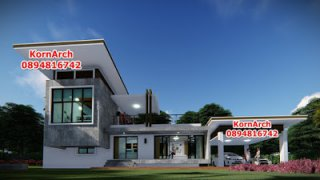 รับออกแบบบ้านปูนเปลือยโมเดิร์นลอฟท์