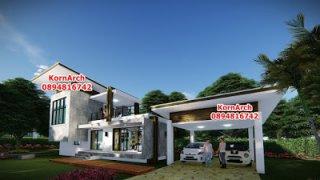 รับออกแบบบ้านโมเดิร์นลอฟท์ Modern Loft
