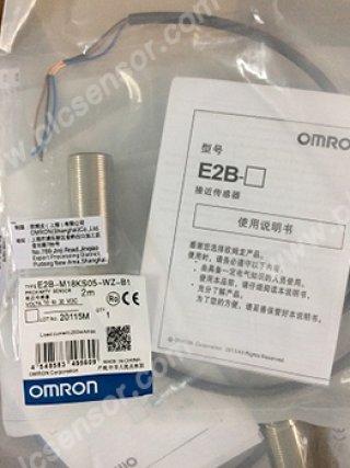 Omron proximity sensor รุ่น E2B-M18KS05-WZ-B1