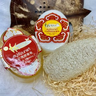 Set Handmade Bird's nest soap