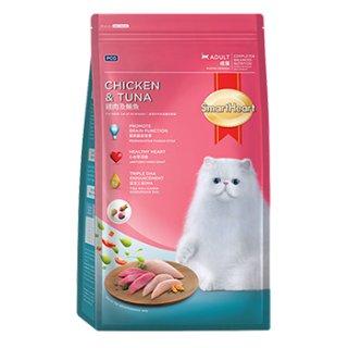 สมาร์ทฮาร์ท ไก่และปลาทูน่า สำหรับแมวโตอายุ 1 ปี