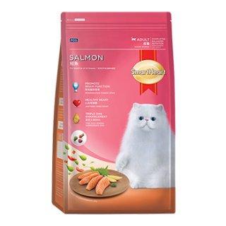 สมาร์ทฮาร์ท ปลาแซลมอน สำหรับแมวโตอายุ 1 ปี ขึ้นไป