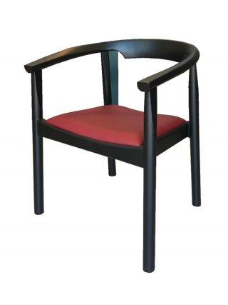 เก้าอี้อาร์มแชร์ทรงโค้งแบนบิด CW-17