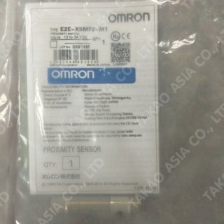 Omron proximity switch รุ่น E2E-X5MF2-M1