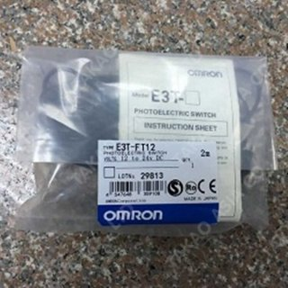 Omron proximity switch รุ่น E3T-FT12