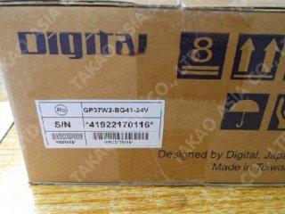 New Proface HMI รุ่น GP37W2-BG41-24V